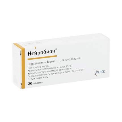 Нейробион таблетки 20 шт.