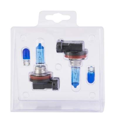 Комплект галогенных ламп SVS H16 55W 12V White 5000K Ver.2.0 + W5W White