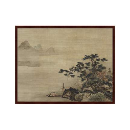 Картина Autumn Landscape in the Style of Sesshū, 18 век, 102х130см, Картины в Квартиру