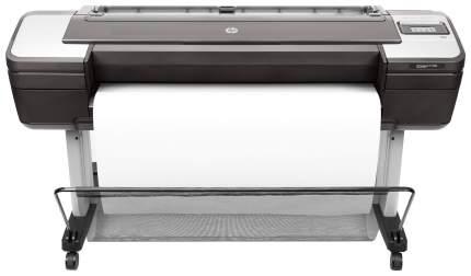 Струйный принтер HP Designjet T1700 W6B55A Черный, серый
