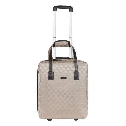 Дорожная сумка на колесах Polar П7107 золотая