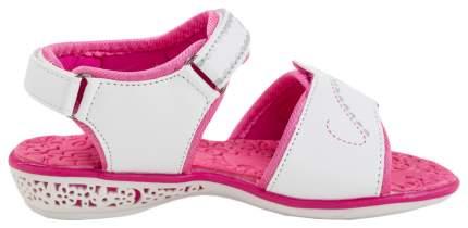 Детские туфли КОТОФЕЙ  белый-розовый р.32