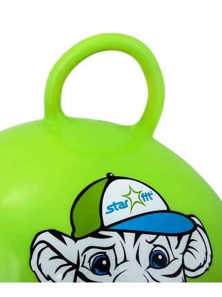Гимнастический мяч StarFit Тигренок 55 см зеленый