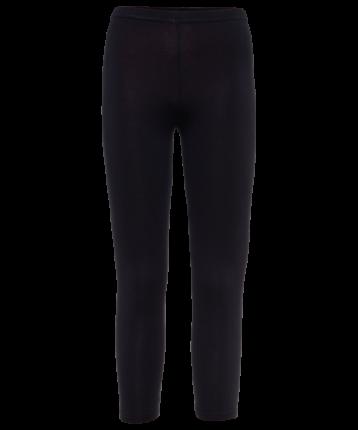 Леггинсы женские Amely AA-2501, черные, 50 RU