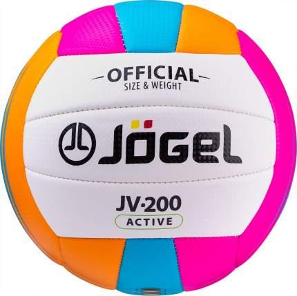 Волейбольный мяч Jogel JV-200 №5 multi-colored