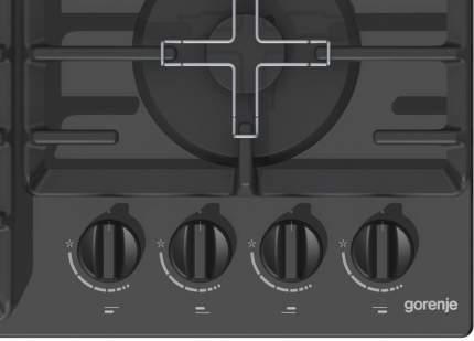 Встраиваемая варочная панель газовая Gorenje GT641B White