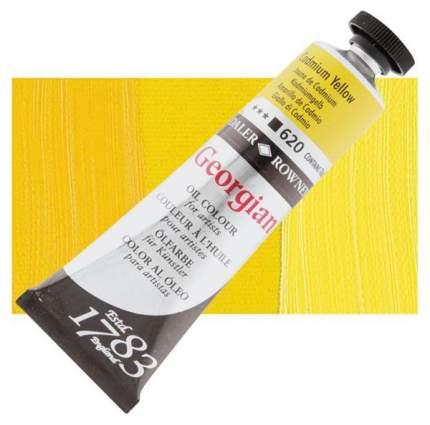 Масляная краска Daler Rowney Georgian кадмий желтый 75 мл