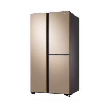 Холодильник Samsung RS63R5571F8 Gold