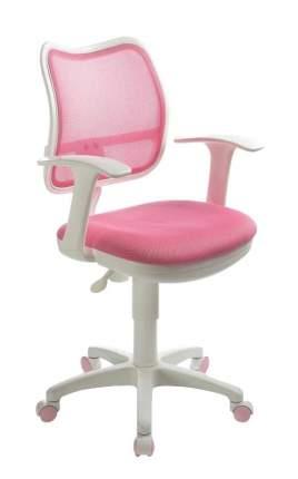 Компьютерное кресло Бюрократ CH-W797/PK/TW-13A, белый/розовый