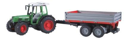 Трактор Bruder Fendt 209 S с прицепом