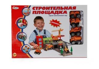 Строительная площадка Играем Вместе с 4 машинами b924601-r