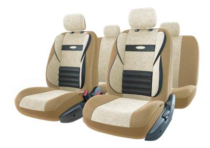 Комплект чехлов на сиденья Autoprofi Comfort Combo CMB-1105 D.BE/L.BE (M)