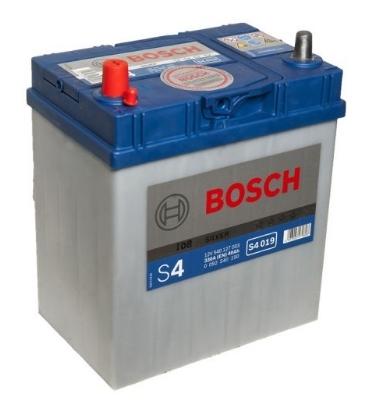 Аккумулятор автомобильный BOSCH S4 Silver 0 092 S40 190 40 Ач