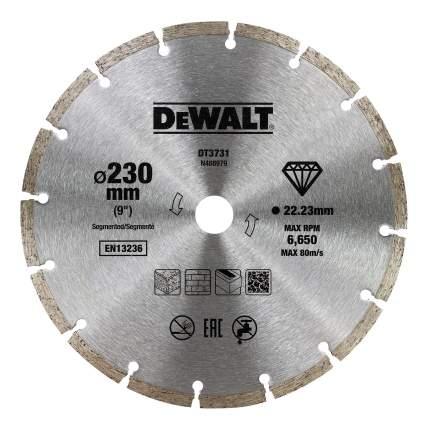 Диск отрезной алмазный универсальный DeWALT DT3731-QZ