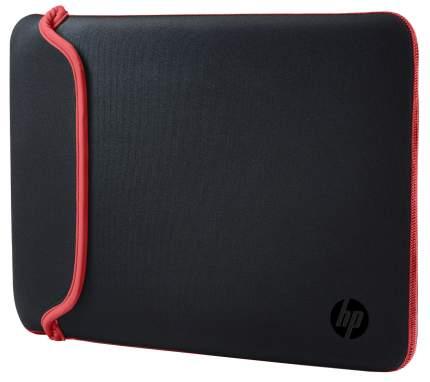 "Чехол для ноутбука 14"" HP Chroma Sleeve черный/красный"