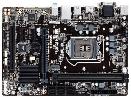 Материнская плата GIGABYTE GA-B150M-HD3 DDR3