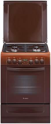 Комбинированная плита GEFEST ПГЭ 6102-03 0001 Brown