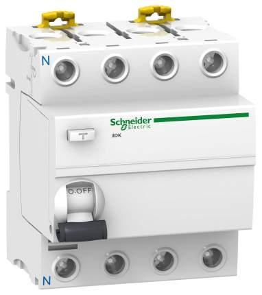 Устройство защитного отключения Schneider Electric iID 4П 25A 30мА AC A9R41425