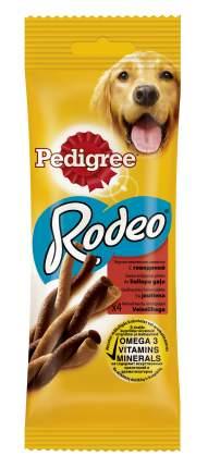 Лакомство для собак Pedigree Rodeo, косичка, говядина, 70г