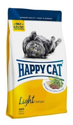 Сухой корм для кошек Happy Cat Fit & Well Light, облегченный, домашняя птица, 1,4кг