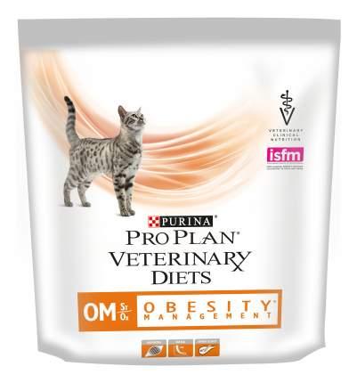 Сухой корм для кошек Pro Plan Veterinary Diets OM Obesity Management, при ожирении, 0,35кг