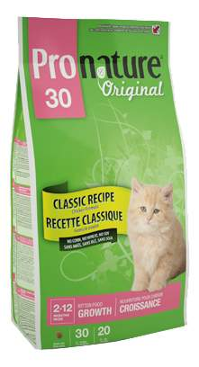 Сухой корм для котят Pronature Original Kitten, цыпленок, 0,35кг