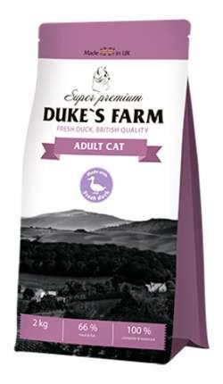 Сухой корм для кошек DUKE'S FARM Adult Cat, утка, 2кг
