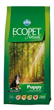 Сухой корм для щенков Farmina Ecopet Natural Puppy Maxi, для крупных пород, курица, 12кг