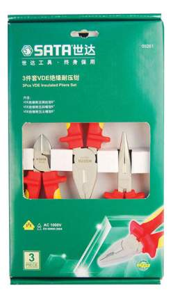 Набор шарнирно-губцевого инструмента SATA 09261
