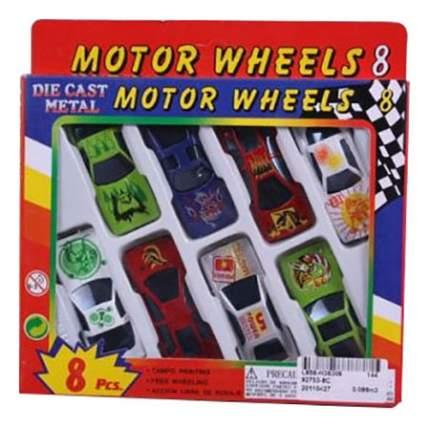 Машинка Global Way Shares Motorwheels 8 шт.