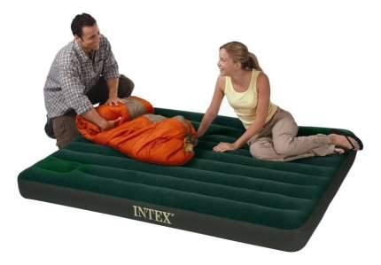 Надувная кровать Intex Матрац-кровать двуспальный надувной