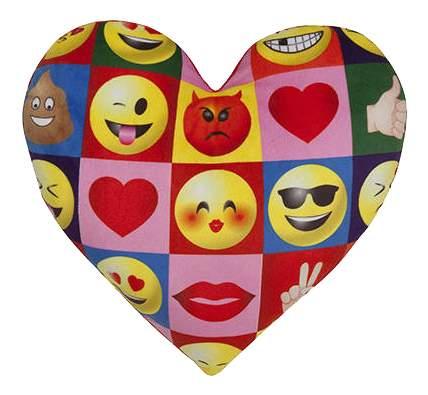 Мягкая подушка ILANIT Imoji в форме сердца