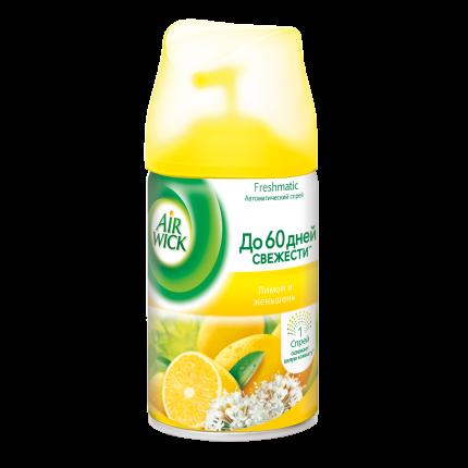 Освежитель воздуха Air Wick freshmatic лимон и женьшень 250 мл