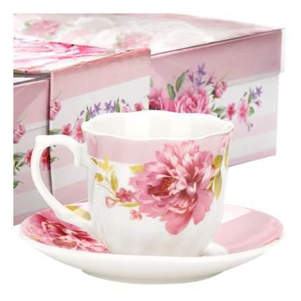 Кофейный сервиз LORAINE 12 предметов розовый