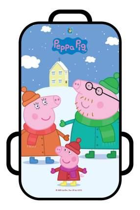 Ледянка детская 1TOY Peppa Pig 72 см, прямоугольная