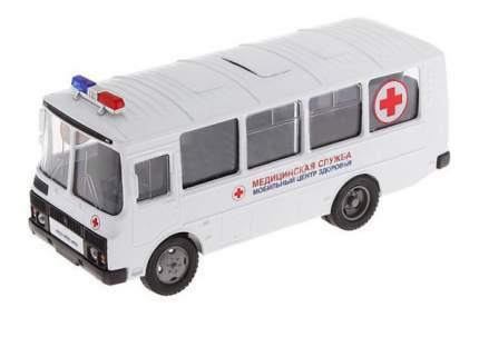 Машина скорой помощи Autotime ПАЗ-32053 медицинская служба 1:43