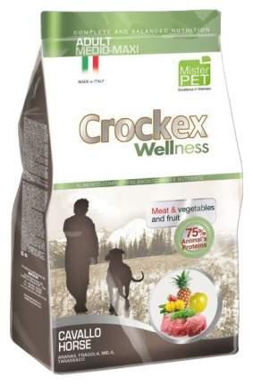 Сухой корм для собак Crockex Wellness Adult Medio-Maxi, конина, рис, 12кг