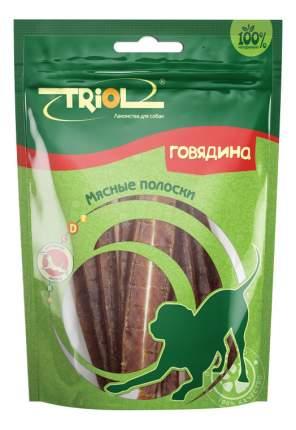 Лакомство для собак Triol, мясные полоски из говядины, 70г