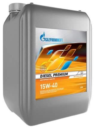 Моторное масло Gazpromneft Diesel Premium 15W-40 20л