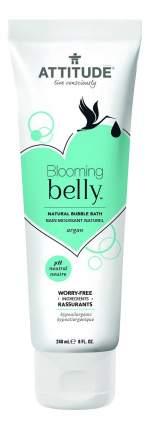 Пена для ванны детская ATTITUDE Blooming Belly с аргановым маслом