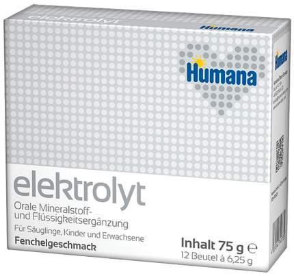 Чай Humana Хумана Электролит с фенхелем 12 пакетиков по 6,25 г