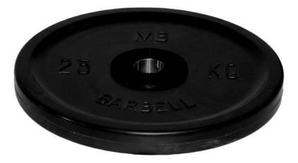 Диск для штанги MB Barbell Евро-Классик 25 кг, 51 мм