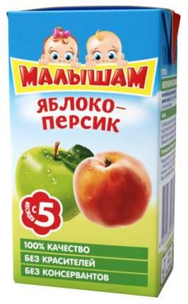 Нектар Малышам Яблоко и персик с 5 мес 125 мл