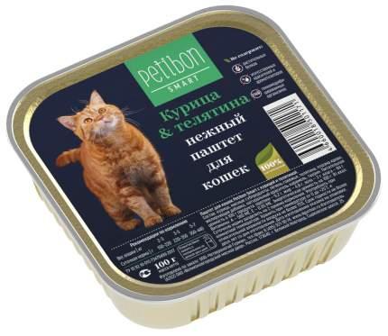 Влажный корм для кошек Petibon Smart, курица и телятина, 100г