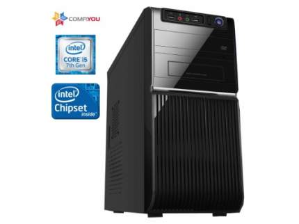 Домашний компьютер CompYou Office PC W170 (CY.607404.W170)