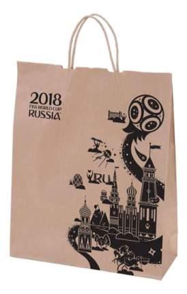 Пакет подарочный FIFA-2018 Крафт коричневый Т11027