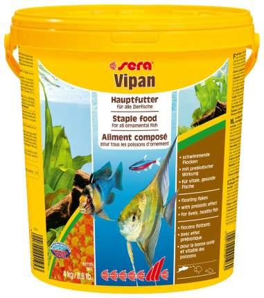 Корм для рыб Sera VIPAN, хлопья, 21 л