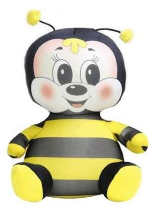 Игрушка-антистресс СПИ Пчелка Майя 29 см желтый черный полиэстер полистирол