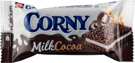 Батончик злаковый Corny milk с молоком и какао 30 г