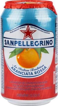 Напиток Sanpellegrino с соком красного апельсина среднегазированный жестяная банка 0.33 л